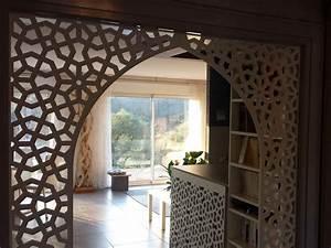 Decoration De Porte : d cor de porte en bois sur mesure par allure et bois ~ Teatrodelosmanantiales.com Idées de Décoration