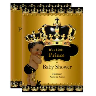 black and gold baby shower baby shower invitations zazzle