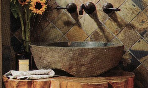 Log Home  Ee  Pedestal Ee   Sink Shaped Like A Log The Log Home Guide