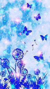 Butterfly Garden Galaxy iPhone/Android Wallpaper I Created