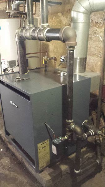 Another Steam Boiler Plumbing Zone Professional