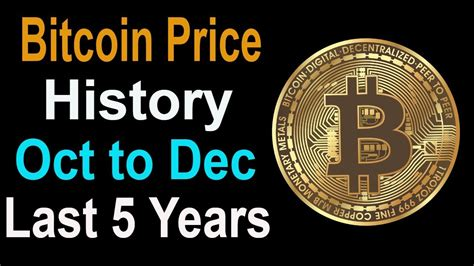 Find out the current bitcoin price in usd and other currencies. Bitcoin Price History Oct to Dec Last 5 Years in Hindi - eBitcoin Times