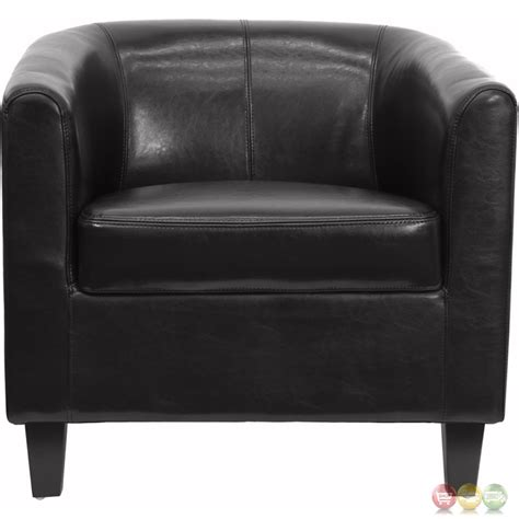 black leather office guest chair reception chair