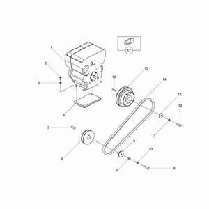 Belle Pcx450 Engine Hatz Plate Compactor Parts