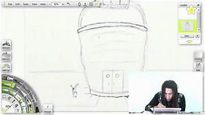 How to Draw!: the Chum Bucket - YouTube