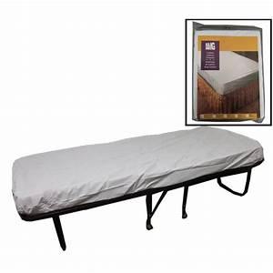 Matelas Une Place : couvre matelas housse en vinyle blanc pour lit d 39 une place ~ Teatrodelosmanantiales.com Idées de Décoration