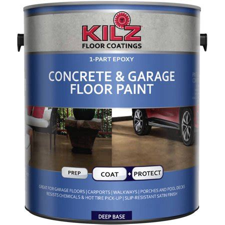 garage floor paint at walmart kilz 1 part epoxy concrete and garage floor paint gallon walmart
