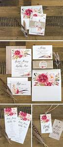 17 best ideas about floral wedding invitations on With wedding invitations pack of 30