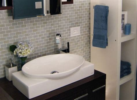 Subway Tile For Small Bathroom Remodeling Ideas  Small