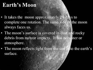 Sun Earth Moon System Ppt