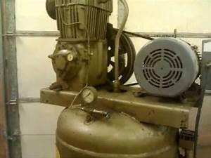 Quincy Qr 325 Compressor- Set Up And Test Run