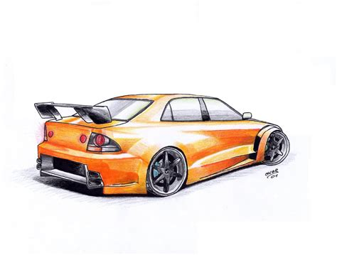 lexus is300 drawing lexus is300 by supra89 on deviantart