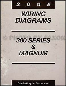 2005 Chrysler 300 Dodge Magnum Repair Shop Manual 4 Vol