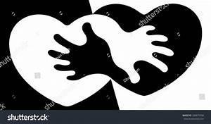 Anti Apartheid Abstract Symbol Anti Racism Stock Vector ...