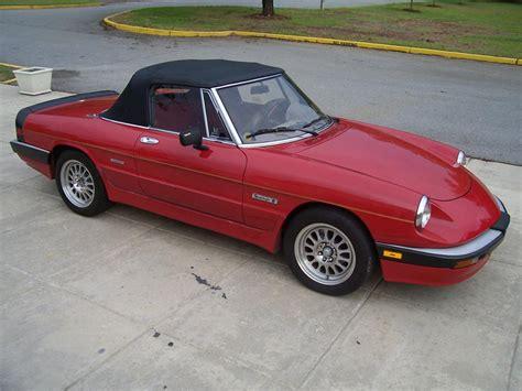 Alfa Romeo Spider Convertible by 1986 Alfa Romeo Spider Convertible 61400
