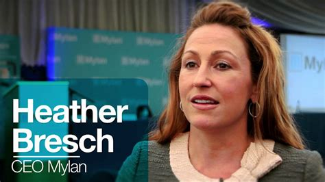 Extracts from Interview with Heather Bresch, CEO of Mylan ...
