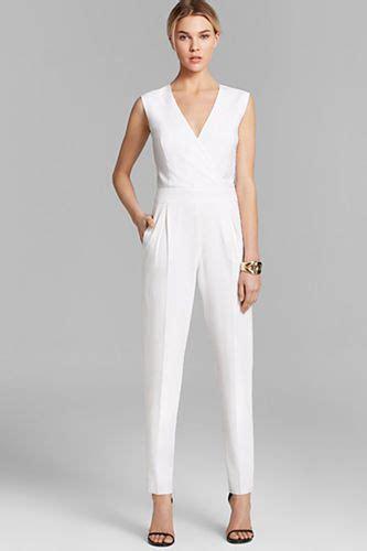 formal white jumpsuit white jumpsuit formal fashion ql