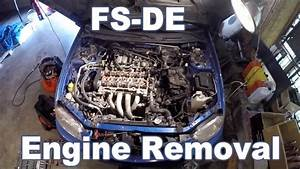 Mazda Protege Engine Removal