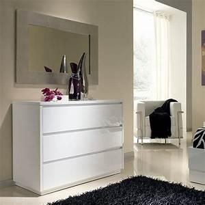 Commode D Angle Chambre : commode chambre blanche ~ Teatrodelosmanantiales.com Idées de Décoration