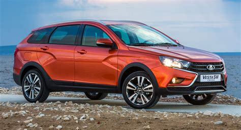 lada vesta sw cross deutschland russia s lada vesta sw and vesta sw cross arrive in europe