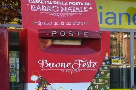 cassetta postale poste italiane la cassetta di babbo natale nell ufficio postale di via