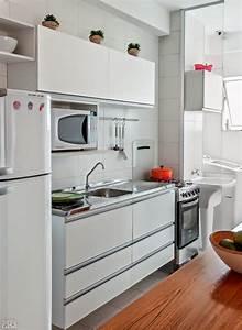 decorer et amenager un petit appartement de 3 pieces With meuble cuisine petit espace 11 amenagement dune cuisine deco avec une kitchenette