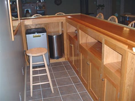 how to build a l customizabe home bar plans