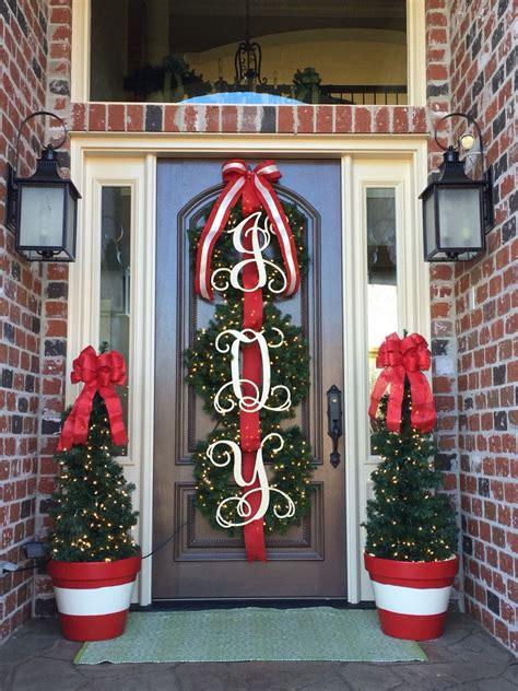 initial door hanger wooden letters door wreath door sign monogram door hanger custom