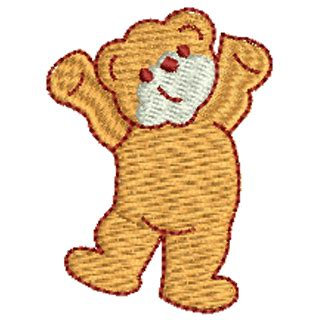 Bear 11979  Stock Embroidery Designs For Home And