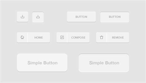 Hw Button Simple free simple button psd files vectors graphics 365psd