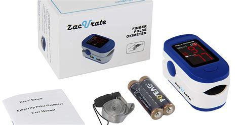 Amazon: Fingertip Pulse Oximeter Blood Oxygen Saturation