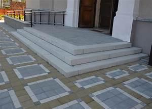 Venkovní schodiště betonové