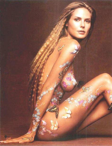 Heidi Klum Nude Naked Profane