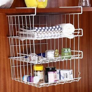 Refrigerator, Storage, Basket, Kitchen, Multifunctional, Storage, Rack, Under, Cabinet, Storage, Shelf