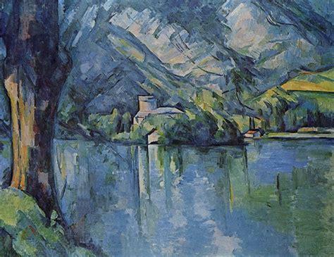 Cezanne Peintre by Lac D Annecy Dans La Peinture