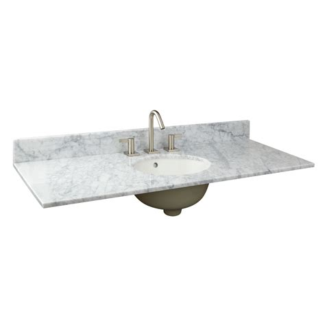 49 double sink vanity top 49 quot x 19 quot marble vanity top for undermount sink single