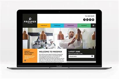 Website Recruitment Agency Branding Norwich
