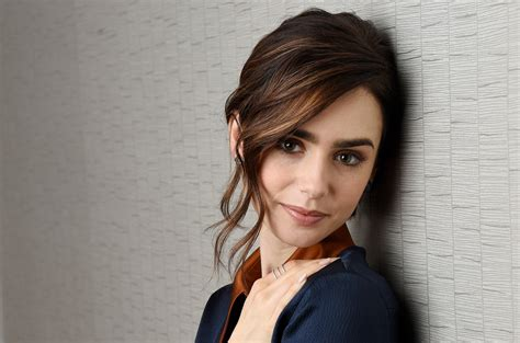 Cute Lily Collins 2017, HD 4K Wallpaper