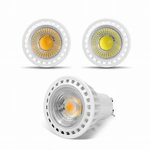 Gu 5 3 : gu10 3w 5w 7w cob led bulb spotlight 85 265v 220v 110v led light cob led lamp gu10 aluminum led ~ Buech-reservation.com Haus und Dekorationen