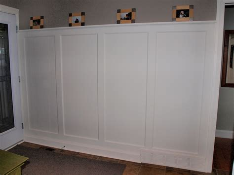 Wall Paneled Wainscot Kit 60'' High  House Of Fine Carpentry