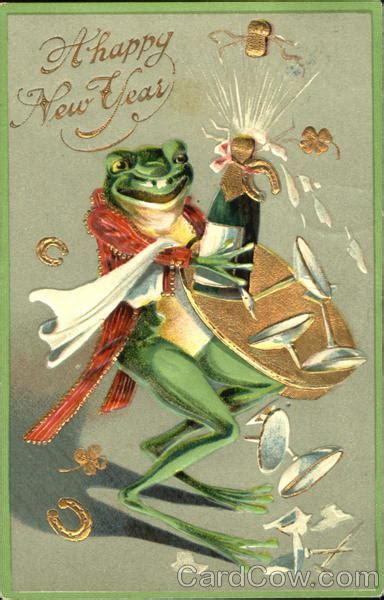 happy  year frogs