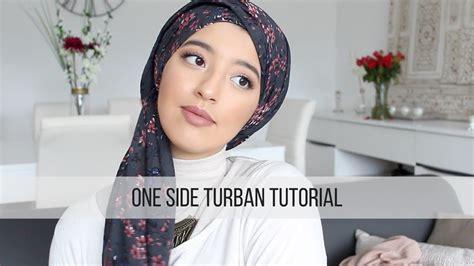 side turban tutorial tutoriel turban simple