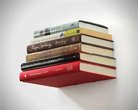 concealed book shelf floating conceal wall book shelf hiconsumption