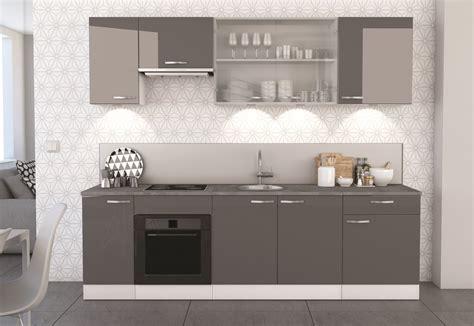 bas de cuisine meuble bas de cuisine contemporain 2 portes blanc mat gris