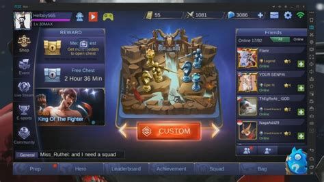 How To Play Mobile Legends On Pc & Laptop With Nox Android