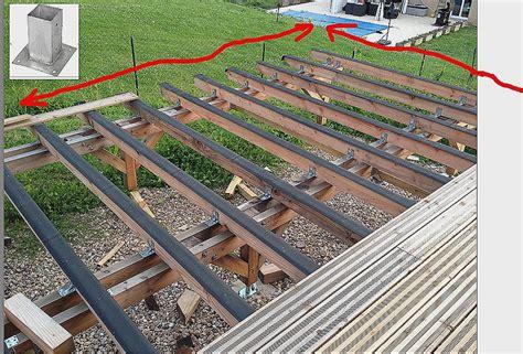 kit terrasse bois terrasse bois pilotis kit mailleraye fr jardin