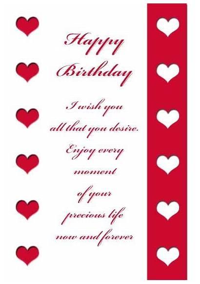 Birthday Printable Cards Husband Happy Wife Card