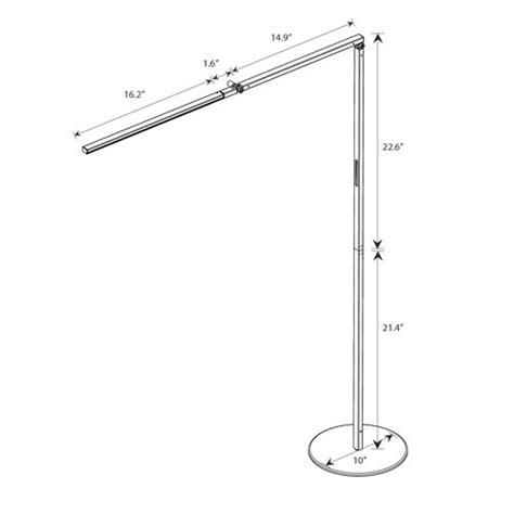 z bar gen 3 floor l lighting australia z bar gen 3 led floor l koncept