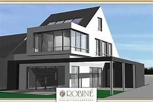 Fußbodenheizung Kosten Pro M2 Neubau : neubau eines modernen einfamilienhauses in golzheim ~ Michelbontemps.com Haus und Dekorationen