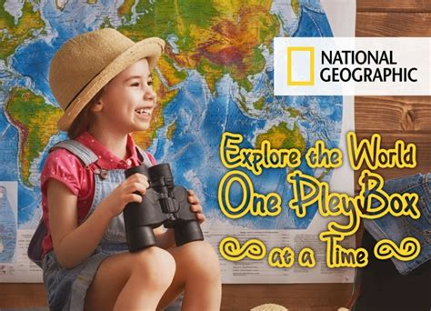 National Geographic Subscription Box For Kids Available